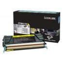 Lexmark X746A1YG оригинальный лазерный картридж 7 000 страниц, желтый