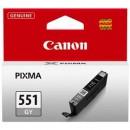 Canon CLI-551GY оригинальный струйный картридж 780 страниц, желтый