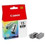 Canon BCI-15Bk TWIN