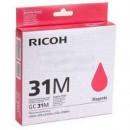 Ricoh 31M оригинальный струйный картридж 1 560 страниц, пурпурный