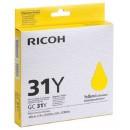 Ricoh 31Y оригинальный струйный картридж 1 750 страниц, желтый