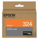 Epson T3249 T324920 оригинальный струйный картридж 14 мл, голубой