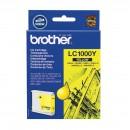 Brother LC-1000Y оригинальный струйный картридж 500 страниц, жёлтый