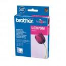 Brother LC-970M оригинальный струйный картридж 300 страниц, пурпурный