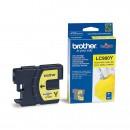 Brother LC-980Y оригинальный струйный картридж 300 страниц, жёлтый
