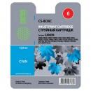 Cactus CS-BCI6C совместимый струйный картридж 12 мл., голубой