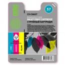 Cactus CS-C6657 совместимый струйный картридж 18 мл., цветной (3-х цветный)