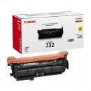 Canon 732Y оригинальный лазерный картридж 6400 страниц, жёлтый