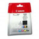 Canon CLI-451 Multipack оригинальный струйный картридж , чёрный, голубой, жёлтый, пурпурный