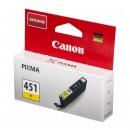 Canon CLI-451Y оригинальный струйный картридж 320 страниц, жёлтый