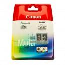 Canon PG-40 CL-41 Multipack оригинальный струйный картридж 330 страниц чёрный , чёрный + цветной