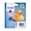 Epson T0553 Magenta оригинальный струйный картридж 290 страниц, пурпурный