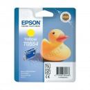 Epson T0554 Yellow оригинальный струйный картридж 290 страниц, жёлтый