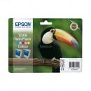 Epson T009+T009 оригинальный струйный картридж 2*330 страниц, цветной