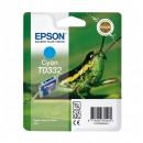 Epson T0332 Cyan оригинальный струйный картридж 440 страниц, голубой