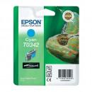 Epson T0342 Cyan оригинальный струйный картридж 440 страниц, голубой