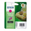 Epson T0343 Magenta оригинальный струйный картридж 440 страниц, пурпурный