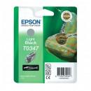 Epson T0347 Grey оригинальный струйный картридж 440 страниц, чёрный светлый