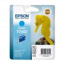 Epson T0482 Cyan оригинальный струйный картридж 430 страниц, голубой
