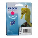 Epson T0483 Magenta оригинальный струйный картридж 430 страниц, пурпурный