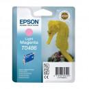 Epson T0486 Light magent оригинальный струйный картридж 430 страниц, светло-пурпурный