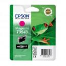 Epson T0543 Magenta оригинальный струйный картридж 400 страниц, пурпурный