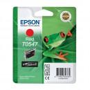 Epson T0547 Red оригинальный струйный картридж 400 страниц, Красный