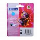 Epson T0732 Cyan оригинальный струйный картридж 250 стр, голубой