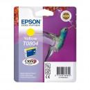 Epson T0804 Yellow оригинальный струйный картридж 480 страниц, жёлтый