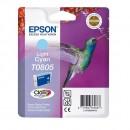 Epson T0805 Light cyan оригинальный струйный картридж 480 страниц, светло-голубой