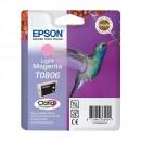 Epson T0806 Light magenta оригинальный струйный картридж 480 страниц, светло-пурпурный
