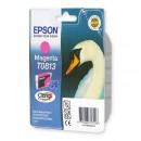 Epson T0813 Magenta оригинальный струйный картридж 480 страниц, пурпурный
