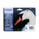 Epson T0817 Multipack оригинальный струйный картридж , комплект 6 цветный