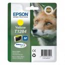 Epson T1284 Yellow оригинальный струйный картридж 260 страниц, жёлтый