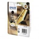 Epson 16 Black оригинальный струйный картридж 175 страниц, чёрный