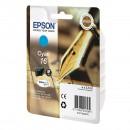 Epson 16 Cyan оригинальный струйный картридж 165 страниц, голубой