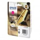 Epson 16 Magenta оригинальный струйный картридж 165 страниц, пурпурный
