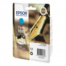 Epson 16XL Cyan оригинальный струйный картридж 450 страниц, голубой
