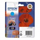 Epson 17XL Cyan оригинальный струйный картридж 450 страниц, голубой