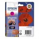 Epson 17XL Magenta оригинальный струйный картридж 450 страниц, пурпурный