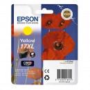 Epson 17XL Yellow оригинальный струйный картридж 450 страниц, жёлтый