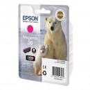 Epson 26 Magenta оригинальный струйный картридж 300 страниц, пурпурный