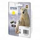 Epson 26 Yellow оригинальный струйный картридж 300 страниц, жёлтый