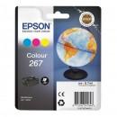 Epson 267 Color оригинальный струйный картридж 200 страниц, цветной