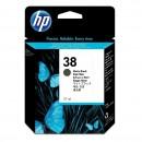 HP 38 C9412A струйный картридж 3200 страниц, черный-матовый