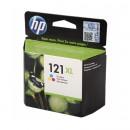 HP CC644HE (HP 121XL Color) оригинальный струйный картридж 440 страниц, цветной