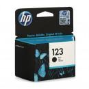HP F6V17AE (HP 123 Black) оригинальный струйный картридж 120 страниц, чёрный