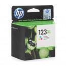 HP F6V18AE (HP 123XL Color) оригинальный струйный картридж 330 страниц, цветной