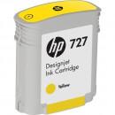 HP B3P15A (HP 727 Yellow) оригинальный струйный картридж 40 ml., жёлтый