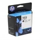 HP C1Q12A (HP 727 Matte black) оригинальный струйный картридж 300 ml., чёрный матовый